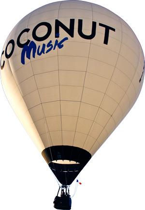 La montgolfière Coconut Music