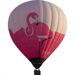 montgolfière Flamant rose